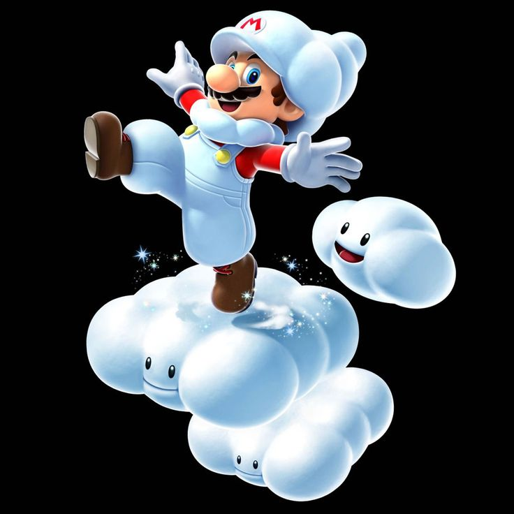 Cloud Mario | Super Mario Galaxy 2