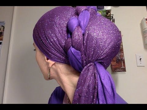 How-to for Wrapunzel's latest, an easy wrap using knots as a decoration.