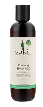 Purifying Shampoo 500ml - Hair Care - Sukin Australian Natural Skincare products, Best Natural Skincare