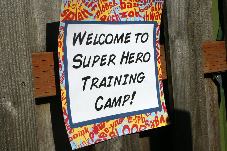 Super Hero Party Decorations