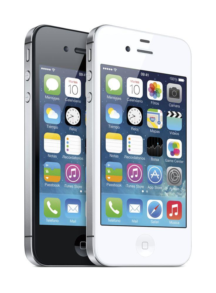 #iPhone #4S #blanco #negro #Apple