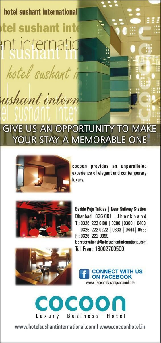 As a host, you will get the best service from us.... Visit us: hotelsushantinternational.com