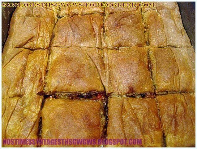 ΜΕΛΙΤΖΑΝΟΠΙΤΑ ΜΕ ΚΙΜΑ ΚΑΙ ΜΕ ΑΛΕΥΡΙ ΖΕΑΣ | Νόστιμες Συνταγές της Γωγώς
