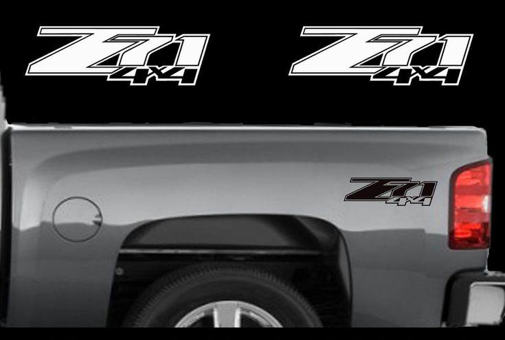 2 Chevy Z71 4x4 2007 2013 Decals Silverado Gmc Sierra