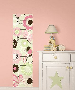 cute baby growth chart decal.  $16.99