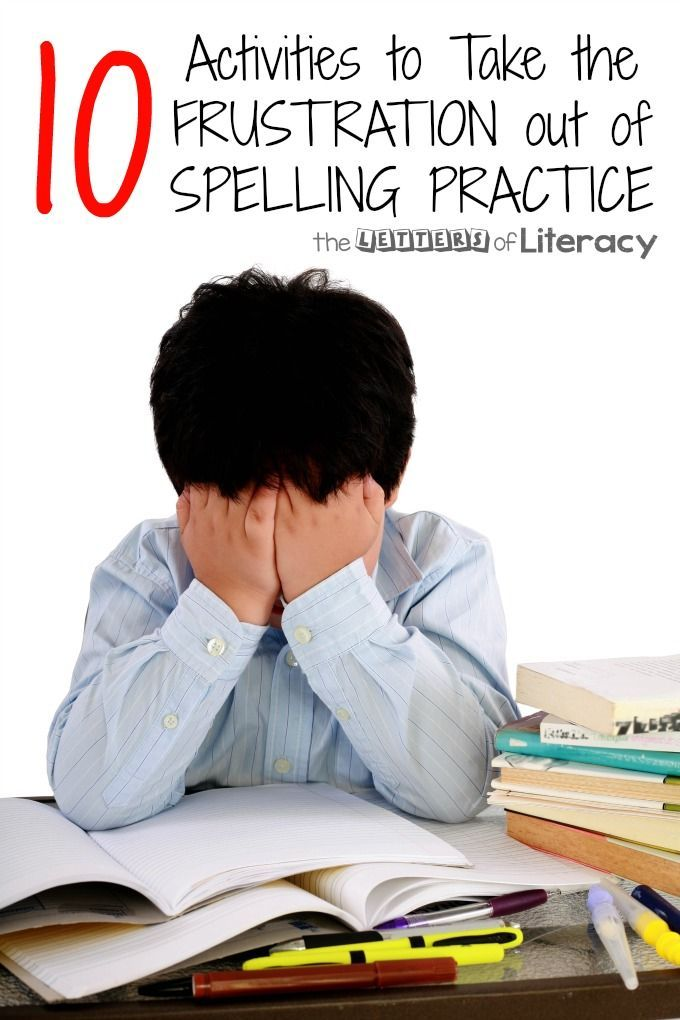 For some, spelling comes naturally. For others, spelling is an extremely difficult task that is avoided at all costs. Here are 10 ways to practice spelling!