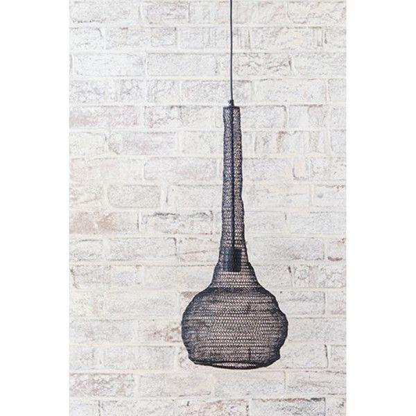Crochet Metal Pendant Light