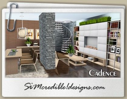 Superior Designs 3 | TOP Quality Content For Sims Games Cadence Dining Room Set