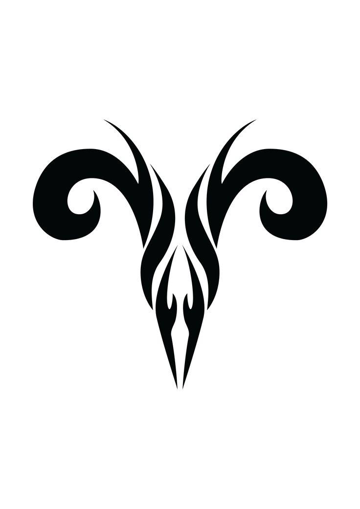 Tatouage de bélier et symbolique du signe astrologique du bélier