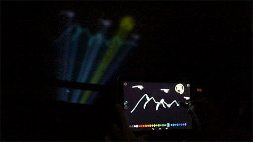 世界の空調オタクことダイキンと、ウルトラテクノロジスト集団チームラボが共同し 雲へのラクガキや映像投影に挑戦するプロジェクト