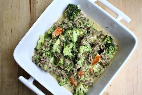 Gerechten zonder pakjes of zakjes #75. Maggi dagschotel broccoli-kaas met gehakt. -