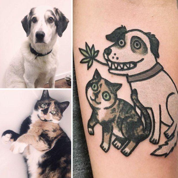 Νοτιοκορεάτης tattoo artist μετατρέπει τα κατοικίδια σας σε φοβερά τατουάζ