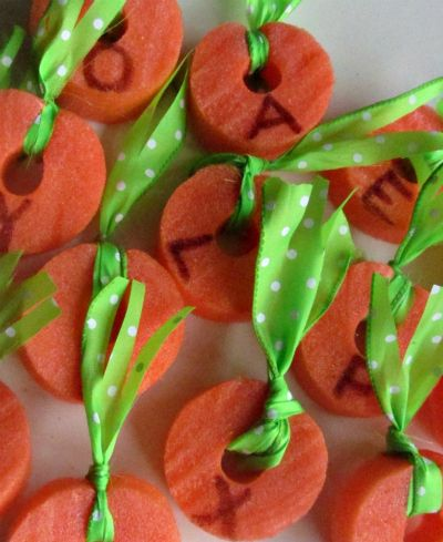 alphabet letters digging for carrots