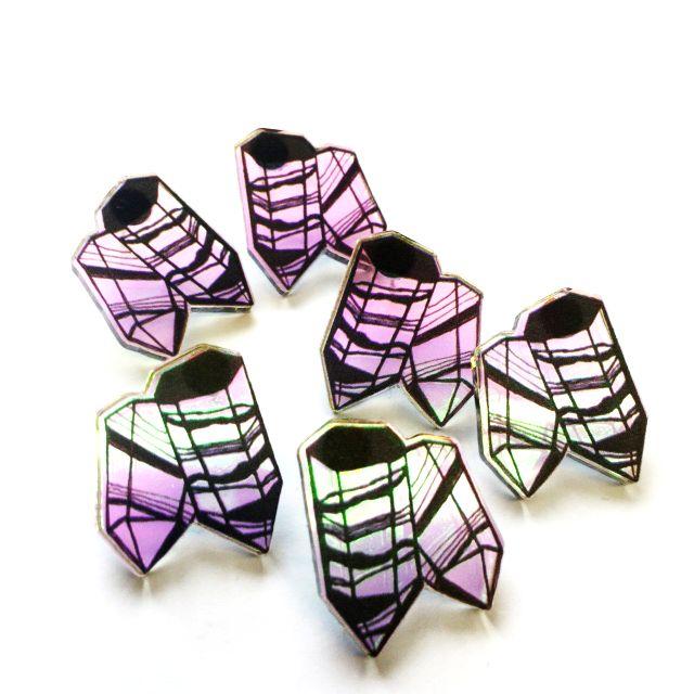 Aarre minimini stud earrings // Aarre minimini nappikorvakorut