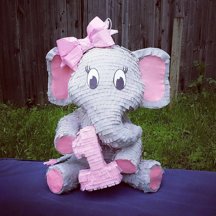 elephant piñata!                                                                                                                                                                                 More