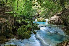 Nacimiento del río Urederra Navarra
