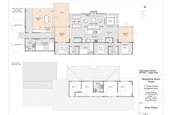 Lay Out - Mangawhai Heads bach or holiday home