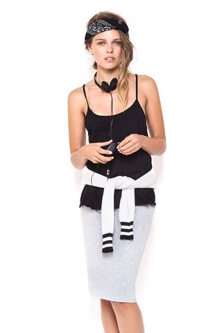 First Base Racer Singlet Black – Eclectic Ladyland