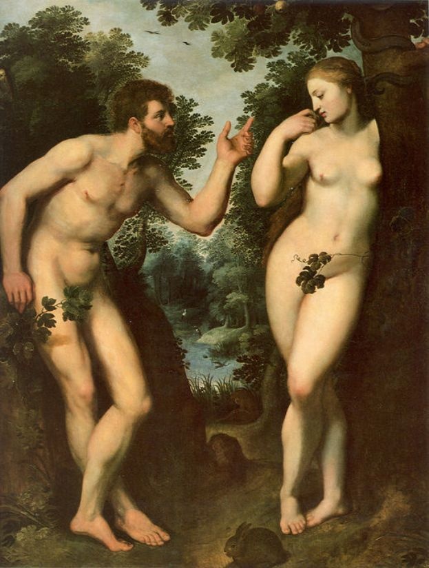 Adam and Eve - Peter Paul Rubens
