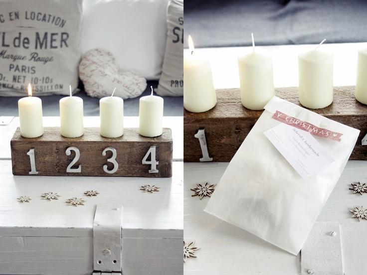 17 best images about advent advent ein lichtlein brennt on pinterest kerst deko and advent. Black Bedroom Furniture Sets. Home Design Ideas
