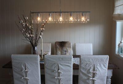 Lampe til spisebord Stue / Living Room Pinterest