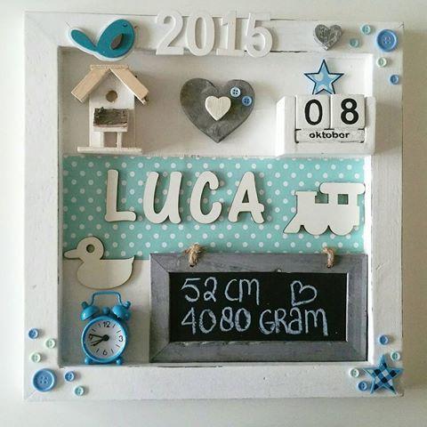 Het geboortebord van Luca ! Troetel.com   #Bestel #online #handgemaakt #handmade #geboorte #geboortebord #webshop #kraamcadeau #cadeau #mama #mama2be #decoratie #kinderkamer #babykamer #nursery #interieur