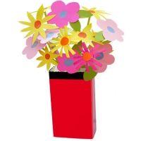Bricolage Fleurs en maternelle avec Tête à modeler