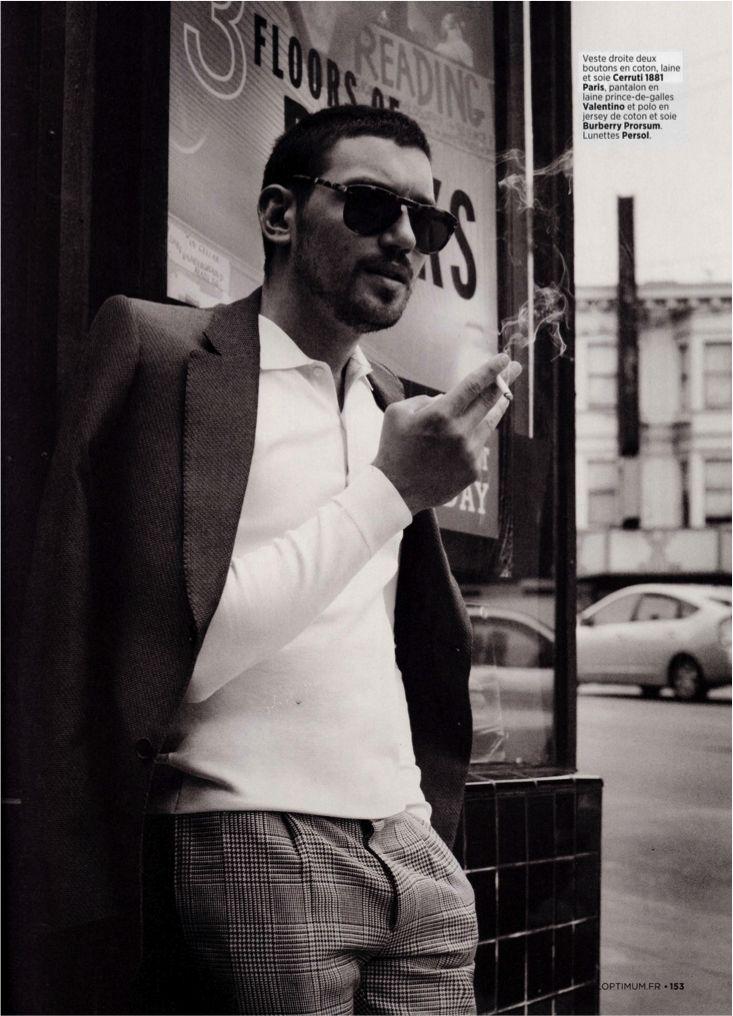 CERRUTI 1881 Paris : Single Breasted Nino Jacket in Cotton Wool & Silk  L'Optimum - Octobre 2013