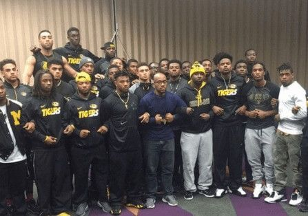 "Black football players at Mizzou say they are ""marginalized"" students and want the president fired..."