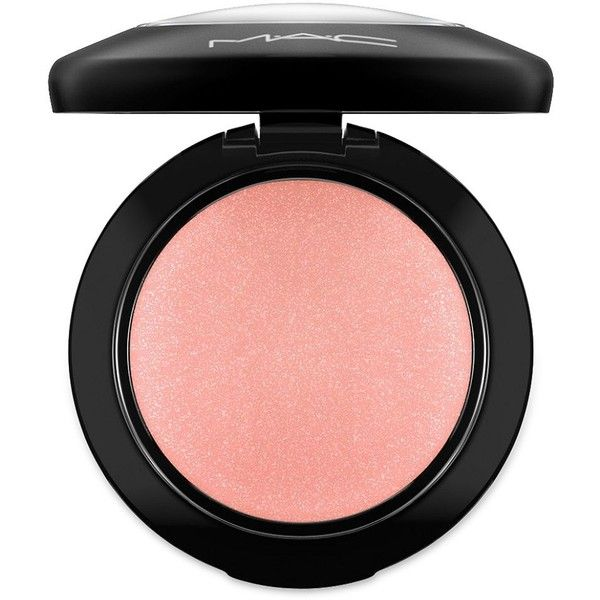 MAC Mineralize Blush found on Polyvore featuring beauty products, makeup, cheek makeup, blush, apparel & accessories, mineral blush and mac cosmetics