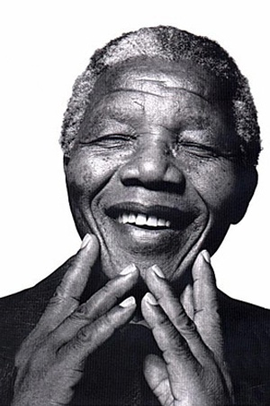 I love his beautiful smile: Nelson Mandela