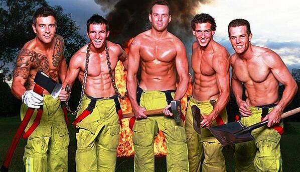 Just a few Aussie firefighers
