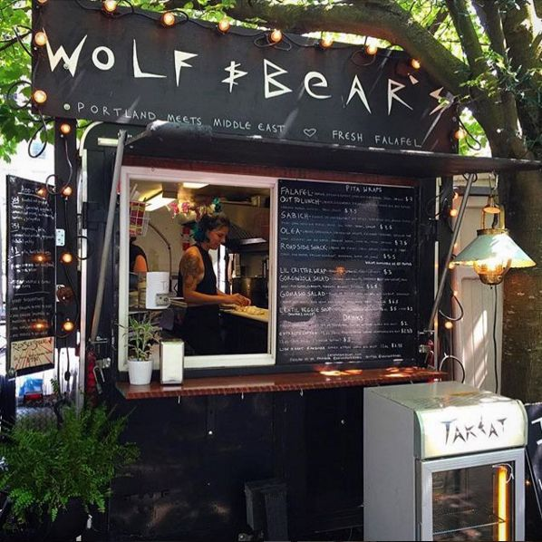 A vegetarian food cart located on Mississippi Ave in North Portland, Oregon. Our Middle Eastern inspired menu includes Falafel, Sabich and the Out to Lunch.