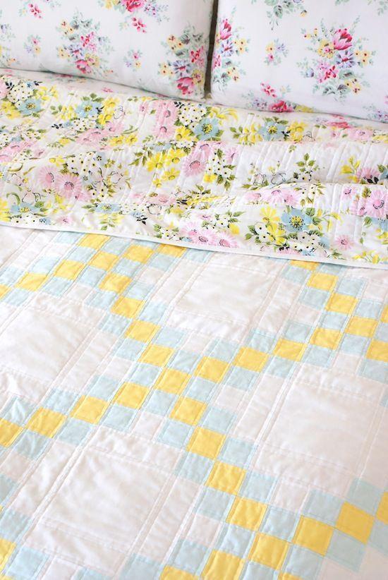 double irish chain quilt by jessie fincham of messy jesse crafts