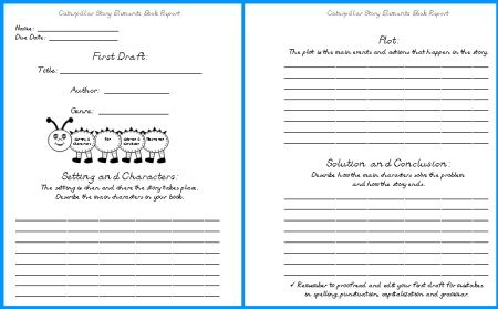 Write First Book Report - Vision specialist