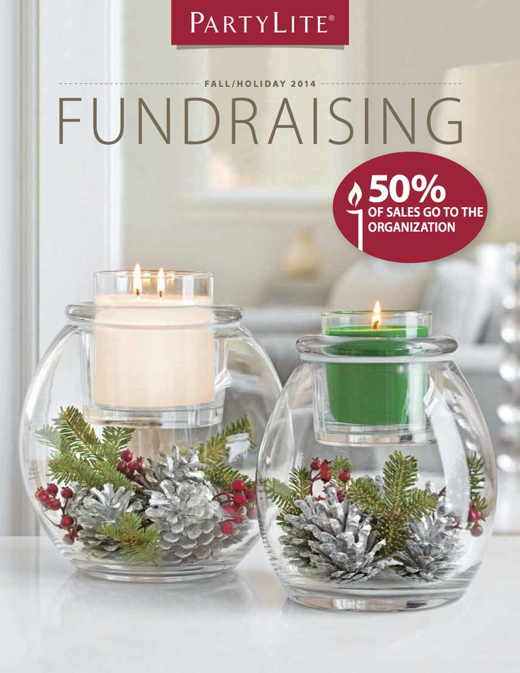 5 Reasons to Have A PartyLite Fundraiser! 1. Reach your goals faster with 50% profit on total product sales 2. Exclusive fragrance formulas create the best-burning candles 3. It's simple! Choose from two candle styles and thirty fragrances 4. No sorting and no storing, PartyLite ships directly to the seller 5. A local PartyLite Consultant will support you every step of the way