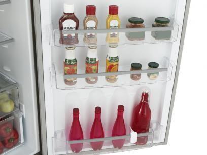 Geladeira/Refrigerador Continental Frost Free - Duplex 445L Inox Massima RFCT500…