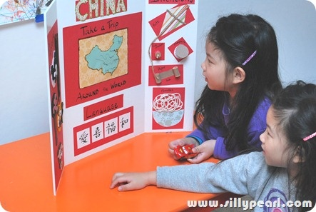 """Take your kids on a """"trip"""" to China! This tutorial using mad crafting skills & Elmer's products looks really fun and educational!"""