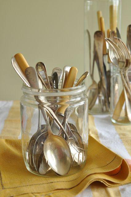 Vintage Cutlery by Nicola Friend, via Flickr