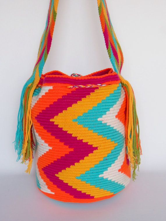 WAYUU SHOULDER Hobo BEACH Bag Mochila by ArtiSanStyLeHanDs on Etsy