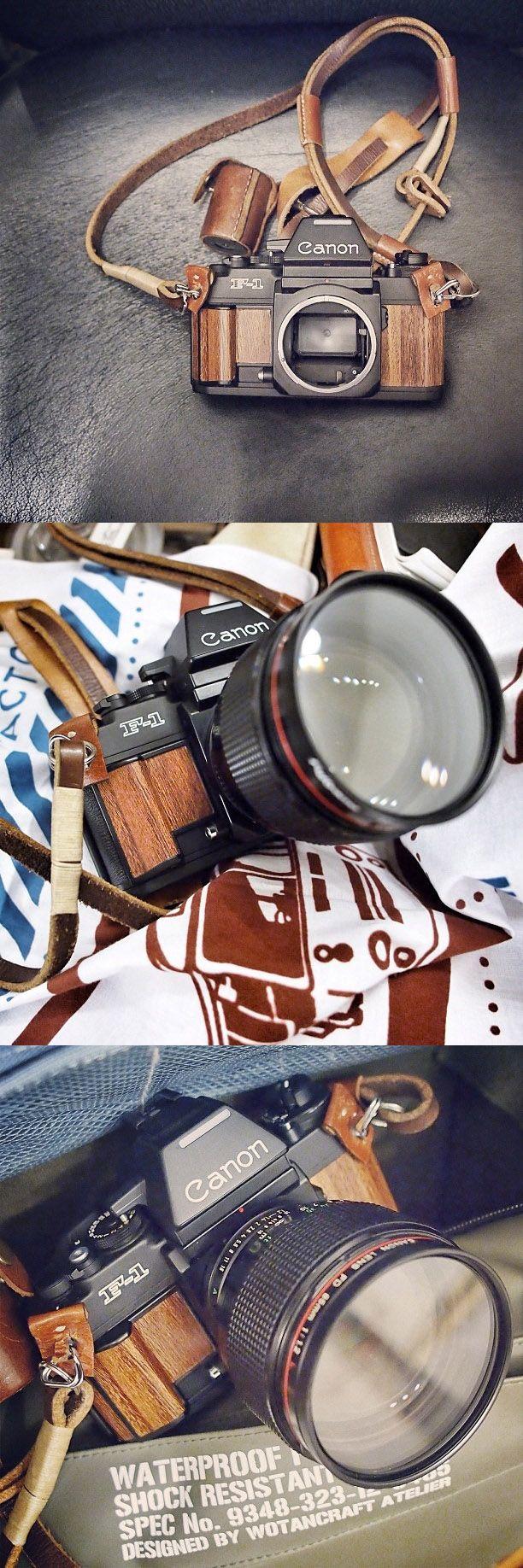 Canon F1 in Wood Interpretation
