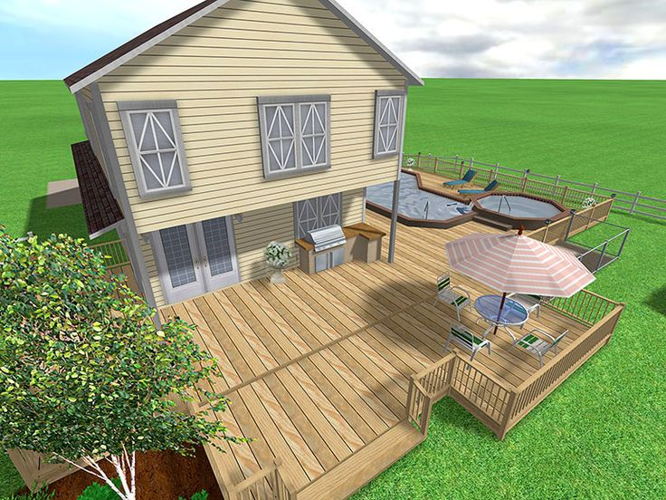 Patio Deck Design Tool: 25+ Best Ideas About Deck Design Software On Pinterest