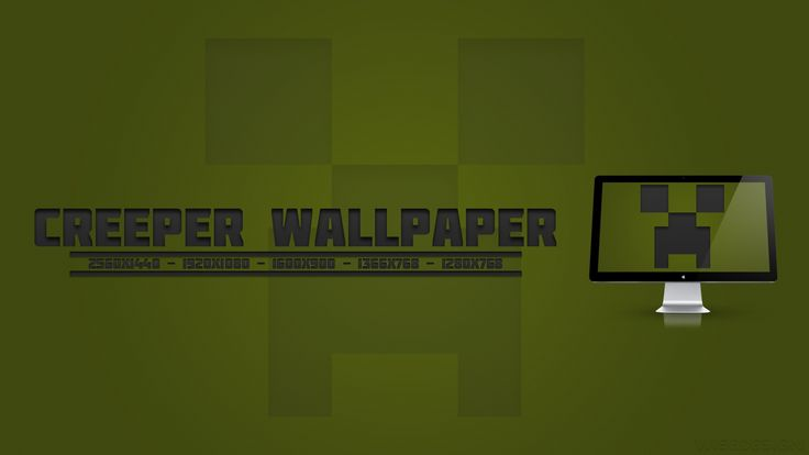 Minecraft Creeper Wallpapers for Computer HD Wallpaper