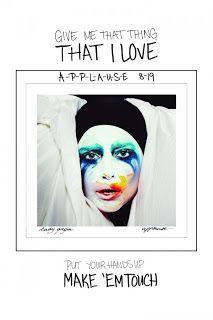 Debut Single Lady Gaga - Applause | kancil sharing