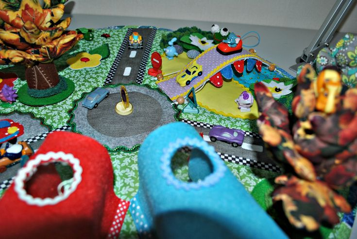 baby, children, kids, babies, play Mat game in handmade road cars garages tree forest flowers butterfly play animals finger toy puppet theater fish river town Farm tree forest flowers butterfly play Mat road cars garages tale animals finger toy puppet theater fish blue Travel toy, Birthday present, fabric book Personalized