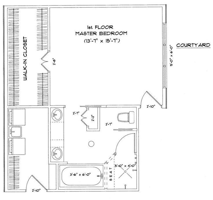 25 best Master bedroom floor plans with ensuite images