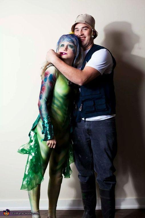 Best 25 fisherman costume ideas on pinterest mermaid for Fish costume men