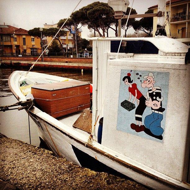 Popeye a #Cervia ;-) #racineravenna Photo by rudyshecat