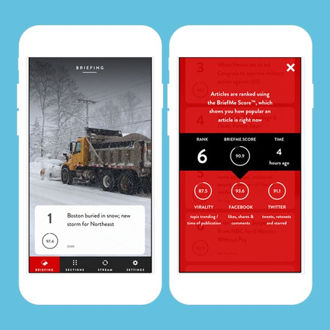 Stay up to date on the latest news with this app.