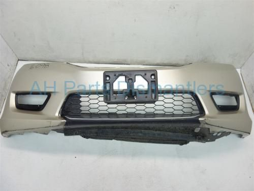 Used 2013 Honda Accord FRONT BUMPER COVER - GOLD HAS DEEP SCRATCHES AND CRACK TOWARDS BOTTOM 04711-T2A-A90ZZ 04711T2AA90ZZ. Purchase from https://ahparts.com/buy-used/2013-Honda-Accord-FRONT-BUMPER-COVER-GOLD-04711-T2A-A90ZZ-04711T2AA90ZZ/115492-1?utm_source=pinterest